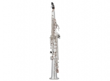 New Yamaha Custom Z YSS-82ZRS Soprano Sax w/ Curved Neck in Silver Plate