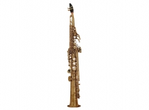 New Yamaha Custom Z YSS-82ZRU Unlacquered Soprano Sax w/ Curved Neck
