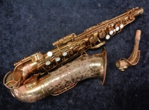 Vintage Original Lacquer The Martin Committee III Alto Saxophone, Serial # 155474