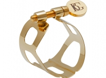 BG France Tradition Series Ligatures for Hard Rubber Soprano  Sax Mouthpieces