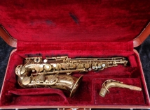 Vintage Original Lacquer Selmer Paris Mark VI Alto Sax, Serial #134071