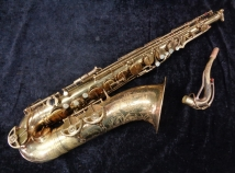 Vintage SML Gold Medal MK I Tenor Sax Original Lacquer, Serial #19288