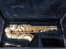 Selmer Paris Super Action 80 Series II Alto Sax in Gold Lacquer, Serial #539885