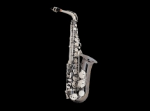 New! Selmer USA AS42 Professional Alto Sax in Black Nickel Plate