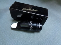 Collectors Quality Brilhart Ebolin 3 Tenor Sax Mouthpiece in Orig Box, Serial # 158245