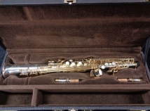 Sterling Silver Yanagisawa S-9930 Soprano Sax with High G - Serial # 00184255