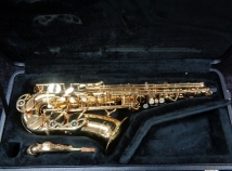 Outstanding Yanagisawa 901 Alto Sax – Beautiful Gold Lacquer, Serial #00302534 – High F#