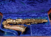 Original Lacquer The Martin Alto Saxophone w/ Fresh Saxquest Setup - Serial # 200475