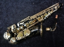 Black Lacquer Selmer Paris Super Action 80 Series II Alto Sax - Serial # 577590