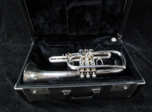 Silver Plated Bach Stradivarius Model 182 Flugehorn - Serial # 113930