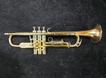 Vintage Reynolds Contempora Bronze Bell Trumpet w/ First Valve Trigger - Serial # 30903