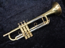Zigmant Kanstul Model 1600 Bb Trumpet – Brushed Lacquer Finish, Serial #3042