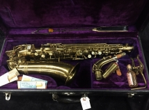 Vintage Holton Rudy Wiedoeft Model Alto Sax, Serial #33480 - Great Collector Piece