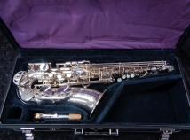 Beautiful Silver Plate Yamaha YAS-62 SII Alto Saxophone, Serial #D57571