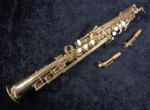 Early Series Selmer Paris Super Action 80 Series III Soprano Sax - Serial # 537205