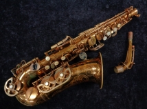 Vintage Buffet Super Dynaction Alto Sax In Original Lacquer, Serial #16731