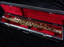 WOW! Super Rare Vintage Buffet S1 Soprano Saxophone in Original Gold Lacquer, Serial # 25366