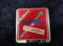 Limited Quantity! Box of 10 Reeds for Price of 5 - Alexander Classique 2.5 for Soprano Sax