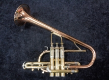 Reynolds Vintage Contempora Custom Tipped Bell Cornet, Serial #28558 LB