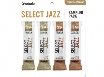 D'Addario Select Jazz Sampler Packs for Tenor Sax