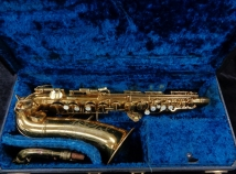 Original Lacquer Conn 6M Naked Lady Alto Sax with Rolled Tone Holes - Serial # 323129