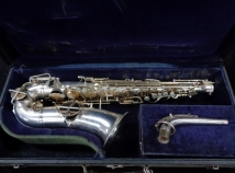 Two-Tone Original Gold & Silver Buescher True Tone Alto Sax - Serial # 242244