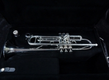 Silver Plated Benge 65B Trumpet in Excellent Shape - Serial # 918121