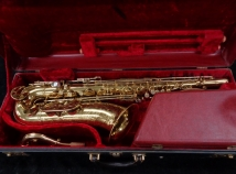 Beautiful Original Lacquer Vintage King H.N. White Super 20 Tenor Sax, Serial #352145