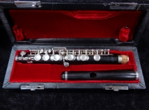 Beautiful Grenadilla M. Zentner C Piccolo – Professional Piccolo, Serial #3512