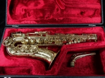 Vintage Buffet S1 Gold Lacquer Alto Sax, Serial #24003