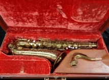 Beautiful Original Lacquer THE MARTIN TENOR Sax - Serial # 195037