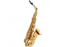Buffet Crampon Senzo Red Brass Professional Model Alto Sax in Gold Lacquer