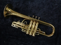 Vintage Olds Ambassador Cornet – Gold Lacquer with Gig Bag, 316964