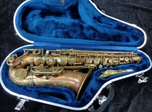 Pristine Condition P Mauriat System 76 Unlacquered Alto Sax - Serial # PM0720916