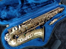 Unlacquered P Mauriat 67RUL Alto Sax with Rolled Tone Holes - Serial # PM0402416