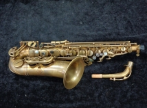 Fantastic Condition Eastman 52nd Street Unlacquered Alto Sax - Serial # 11534046
