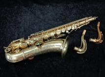 1919 Vintage C.G. Conn New Wonder Tenor Sax in Original Gold Plate - Serial # 55830