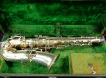 Early 1920's Buescher True Tone Alto Sax in Original Gold Plate, Serial #109017