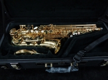 Mint Condition! Yanagisawa AW010 Gold Lacquer Alto Saxophone, 00350128