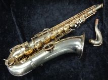 WOW! Original Gold Plate C.G. Conn Chu- Berry Tenor Sax – Art Deco, Serial #243166