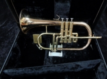Very Nice Used DEG Classic Flugelhorn With Hard Case – Serial #680545
