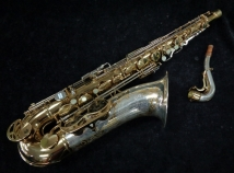 Vintage King H.N. White Silver Sonic Super 20 Tenor Saxophone, serial #354947
