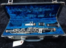 Vintage Noblet Paris Eb Wood Clarinet, Serial #7051D