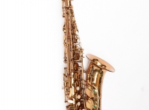 NEW Saxquest Step-Up Advanced Alto Saxophone in Cognac Lacquer