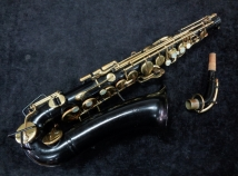 Project Piece! Buescher Aristocrat - Bundy Style Alto Sax in Black, Serial #392447