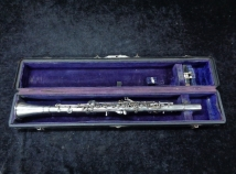 WOW! Ultra Rare WM Haynes Double Wall Metal Sterling Silver Bb Clarinet, No12