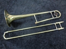 C.G. Conn Director 27H Gold Lacquer Trombone – Fully Serviced Ready to Play