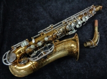 Vintage King Zephyr Alto Saxophone by The HN White Co. Cleveland Ohio, Serial # 390539