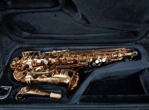 Very Lightly Played! Eastman 640 Series Alto Sax in Vintage Lacquer Finish, Serial #11431495