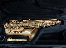 AWESOME! Used Eastman 52nd Street Un-Lacquered Alto Sax, Serial 11532104